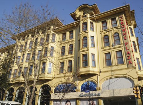 Wyndham stanbul old city esk crown plaza stanbul for Cheap hotels in istanbul laleli
